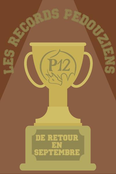 Les records p12iens de retour en septembre